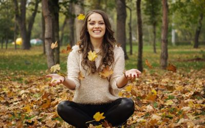L'autunno e capelli